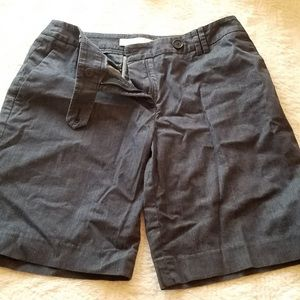 "LOFT Julie size 6 dark blue shorts 8"" inseam EUC"